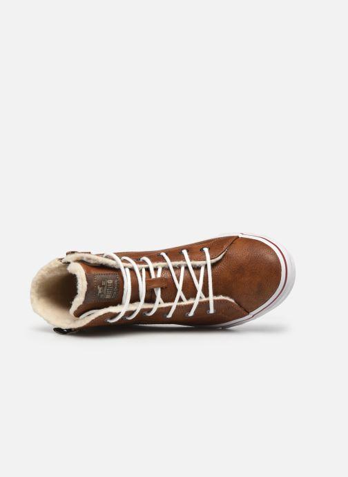 Baskets Mustang shoes 5056604 Marron vue gauche