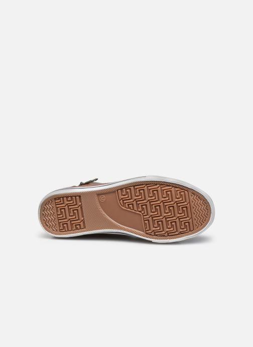 Baskets Mustang shoes 5056604 Marron vue haut