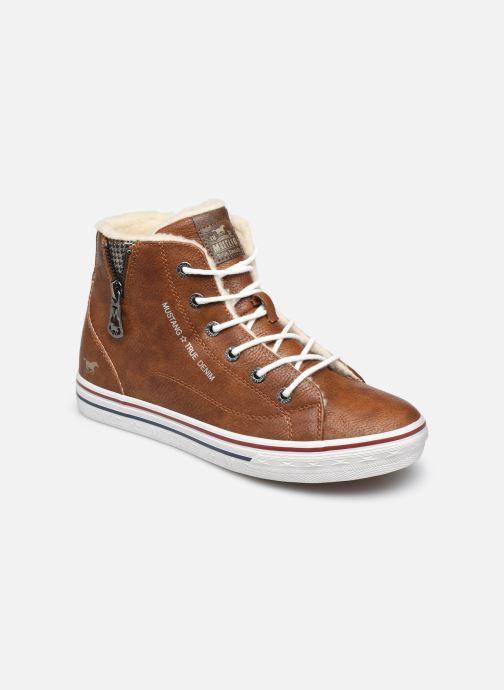 Baskets Mustang shoes 5056604 Marron vue détail/paire