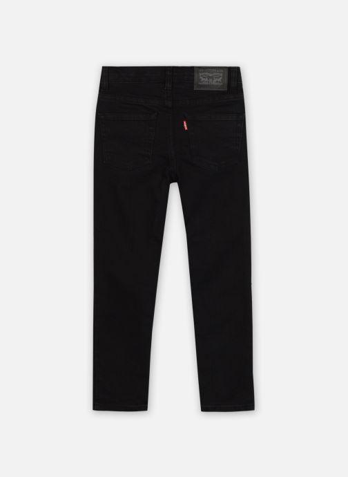 Vêtements Levi's 510 Jean Slim Noir vue portées chaussures