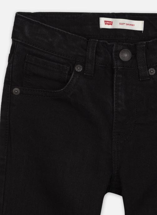 Vêtements Levi's 510 Jean Slim Noir vue face