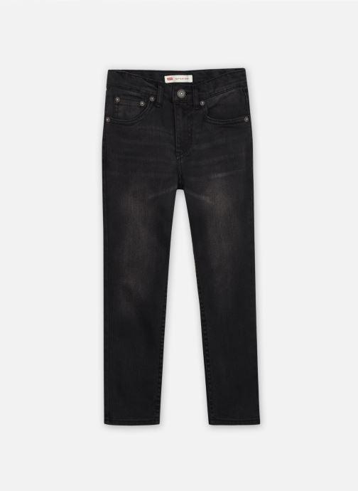 Vêtements Levi's 512 SLIM TAPER Noir vue détail/paire