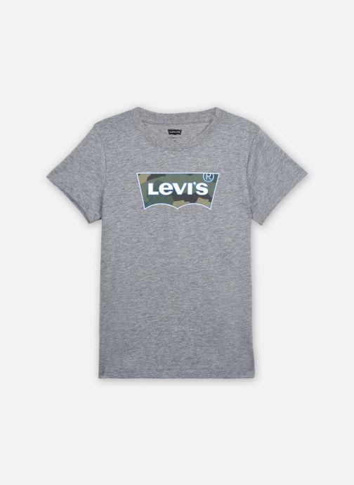 Vêtements Levi's S/S GRAPHIC TEE Gris vue détail/paire