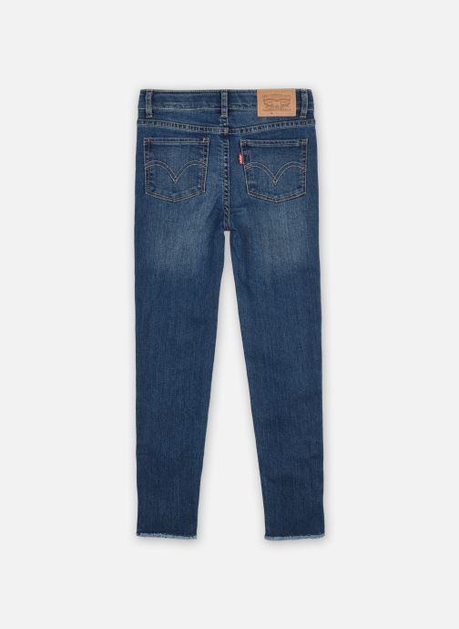 Vêtements Levi's 710 Basic Slim JEAN Bleu vue portées chaussures