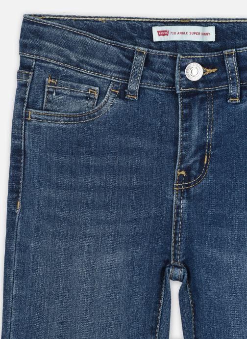 Vêtements Levi's 710 Basic Slim JEAN Bleu vue face
