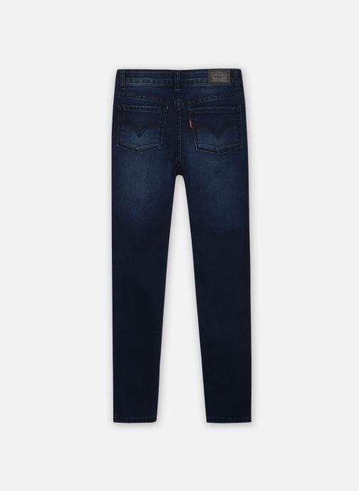 Vêtements Levi's LVG 720 HIGH RISE SUPER SKINNY Bleu vue portées chaussures