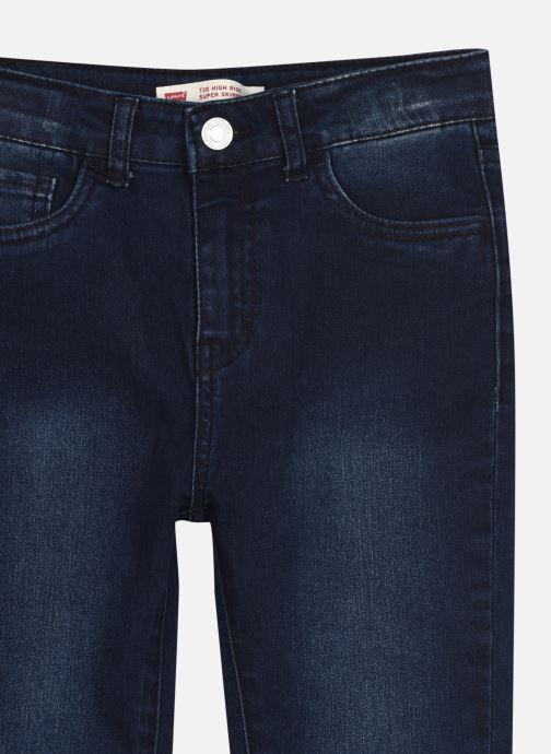 Vêtements Levi's LVG 720 HIGH RISE SUPER SKINNY Bleu vue face