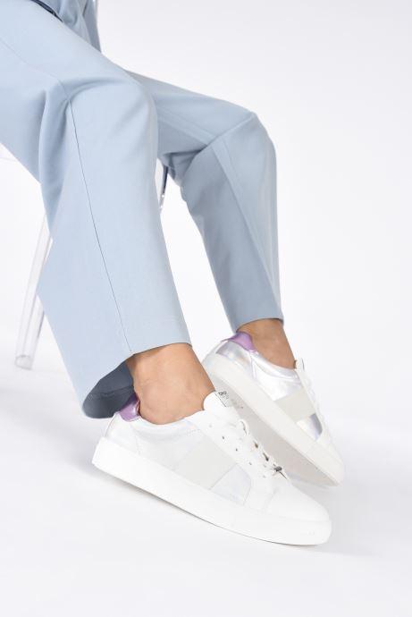 Sneaker ONLY 15212324 silber ansicht von unten / tasche getragen