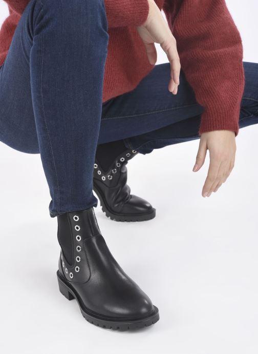 Bottines et boots ONLY 15212301 Noir vue bas / vue portée sac