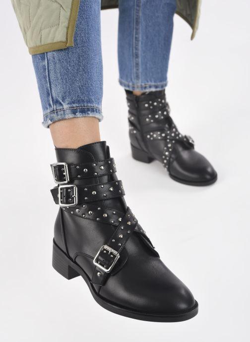 Bottines et boots ONLY 15212295 Noir vue bas / vue portée sac