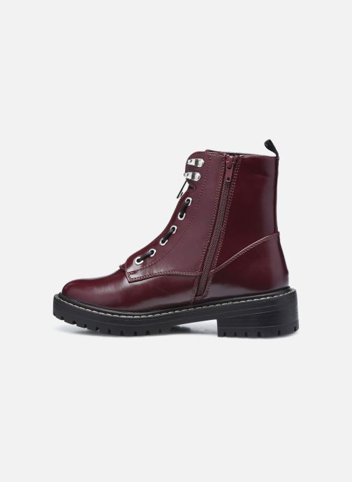 Bottines et boots ONLY 15211874 Bordeaux vue face