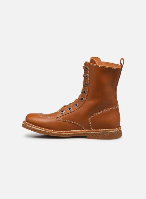 Stiefeletten & Boots Kickers MEETICKZIP braun ansicht von vorne