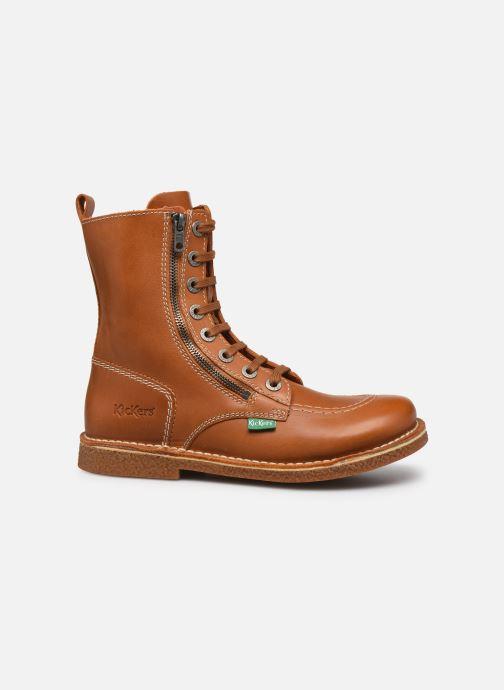 Stiefeletten & Boots Kickers MEETICKZIP braun ansicht von hinten