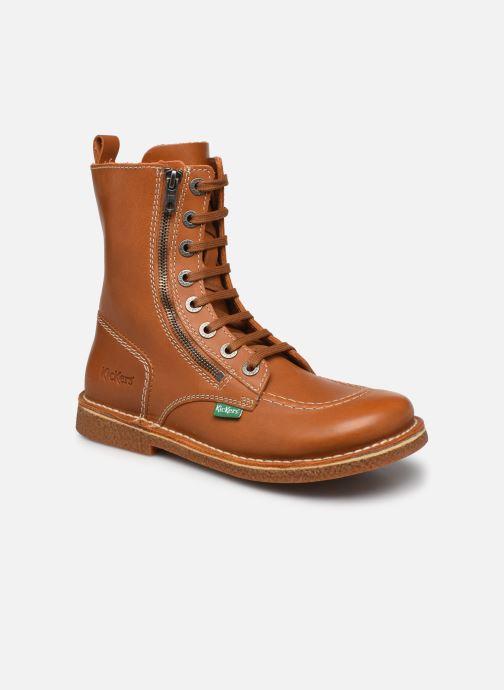 Stiefeletten & Boots Kickers MEETICKZIP braun detaillierte ansicht/modell