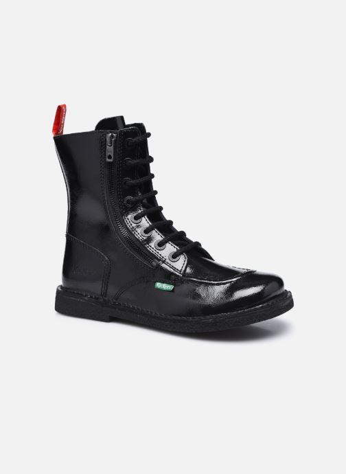 Bottines et boots Kickers MEETICKZIP Noir vue détail/paire