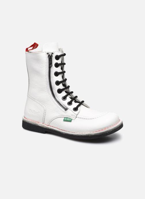 Stiefeletten & Boots Kickers MEETICKZIP weiß detaillierte ansicht/modell