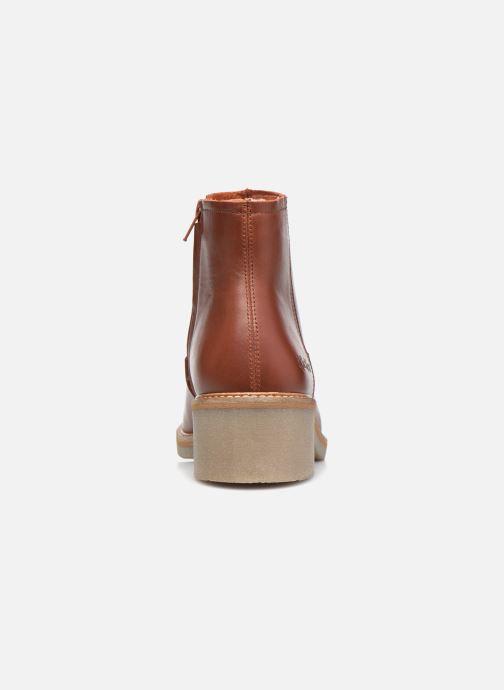 Stiefeletten & Boots Kickers OXYBOOT braun ansicht von rechts