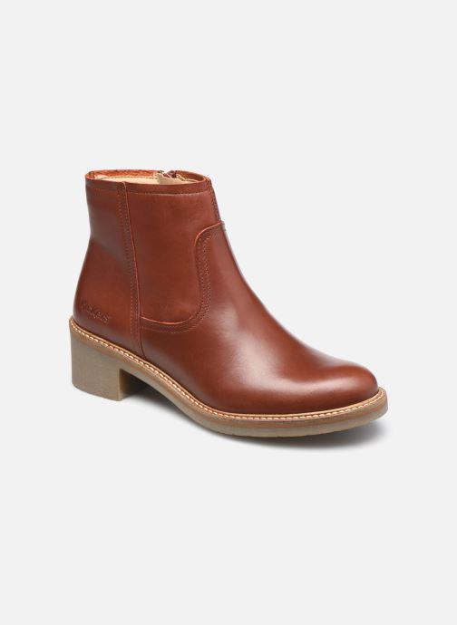 Bottines et boots Kickers OXYBOOT Marron vue détail/paire