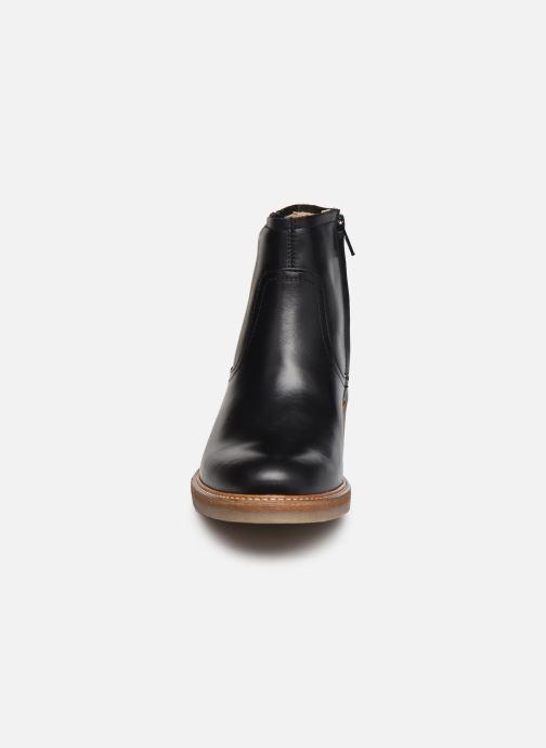 Bottines et boots Kickers OXYBOOT Noir vue portées chaussures