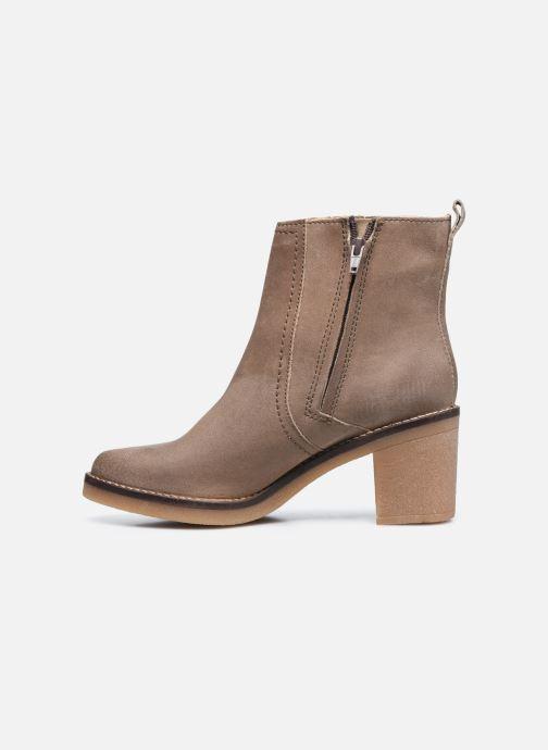 Stiefeletten & Boots Kickers AVERNY grau ansicht von vorne