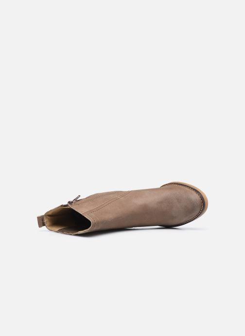 Bottines et boots Kickers AVERNY Gris vue gauche