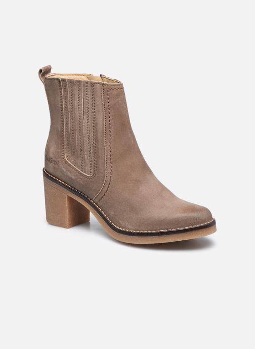 Bottines et boots Kickers AVERNY Gris vue détail/paire