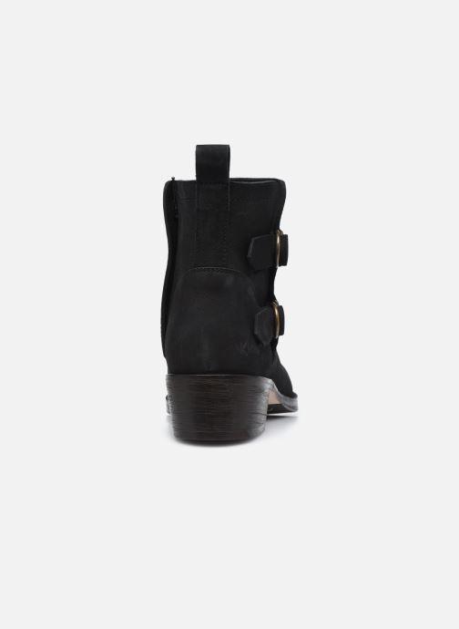 Bottines et boots Kickers KICKAMARGO Noir vue droite