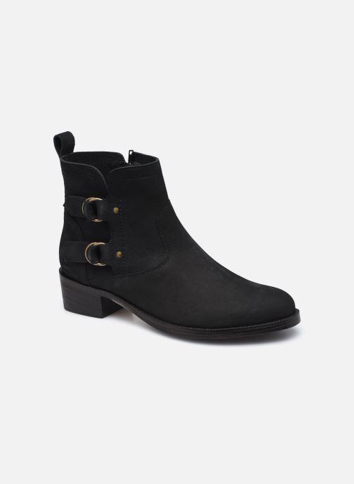 Boots en enkellaarsjes Kickers KICKAMARGO Zwart detail