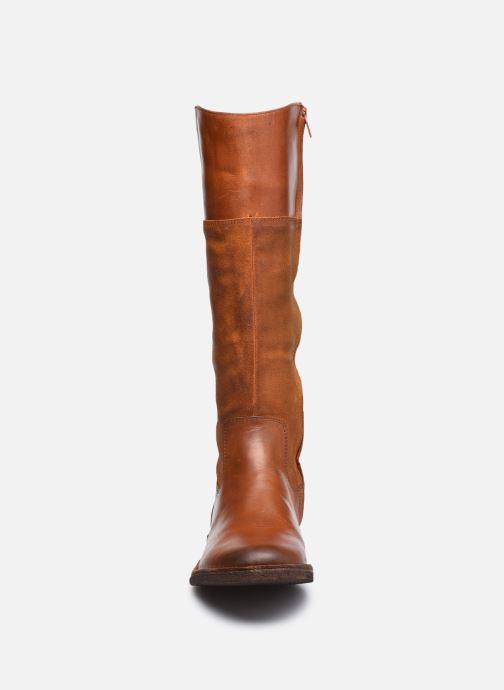 Stiefel Kickers TINTABO braun schuhe getragen