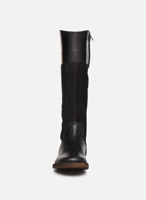 Bottes Kickers TINTABO Noir vue portées chaussures
