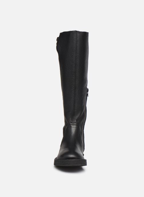 Stiefel Kickers K.WINCH schwarz schuhe getragen