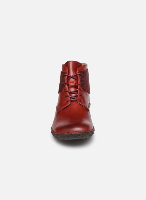 Stiefeletten & Boots Kickers HOBBYTWO 734574 weinrot schuhe getragen