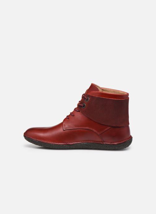Stiefeletten & Boots Kickers HOBBYTWO 734574 weinrot ansicht von vorne
