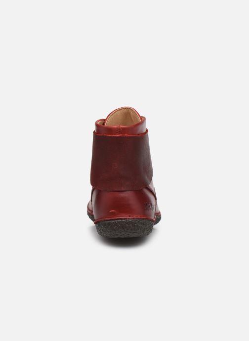 Stiefeletten & Boots Kickers HOBBYTWO 734574 weinrot ansicht von rechts