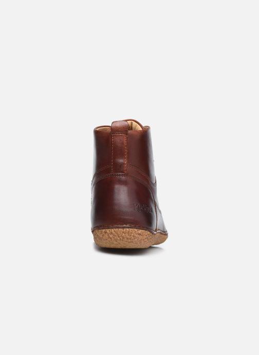 Bottines et boots Kickers HOBBYFLOW Marron vue droite