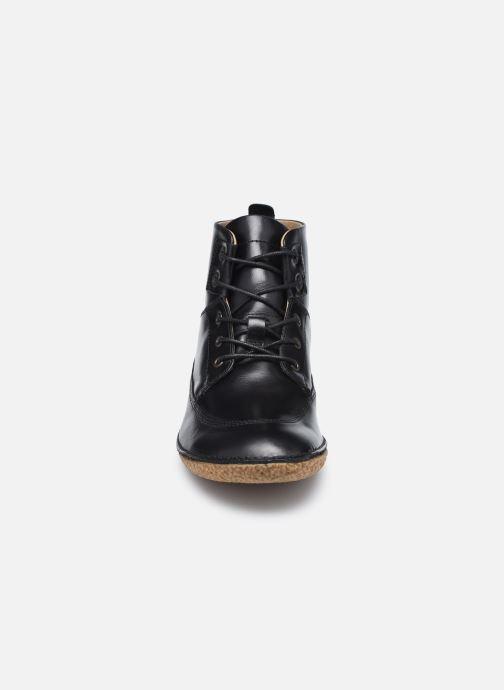 Bottines et boots Kickers HOBBYFLOW Noir vue portées chaussures