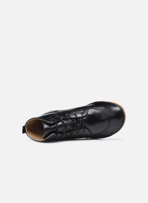 Botines  Kickers HOBBYFLOW Negro vista lateral izquierda
