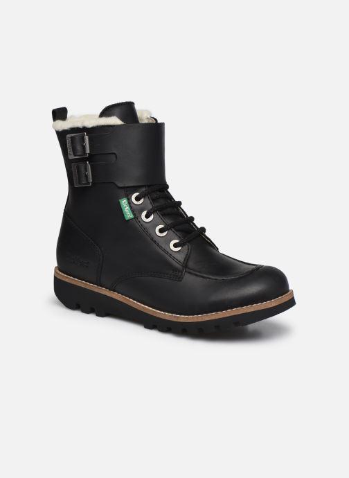 Bottines et boots Kickers NEOMEENELY Noir vue détail/paire