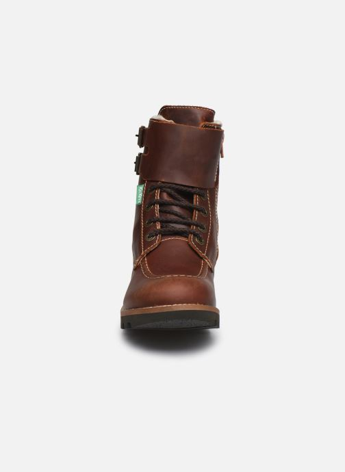 Stiefeletten & Boots Kickers NEOMEENELY braun schuhe getragen