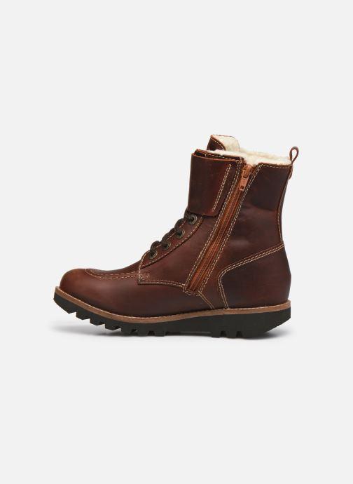 Stiefeletten & Boots Kickers NEOMEENELY braun ansicht von vorne