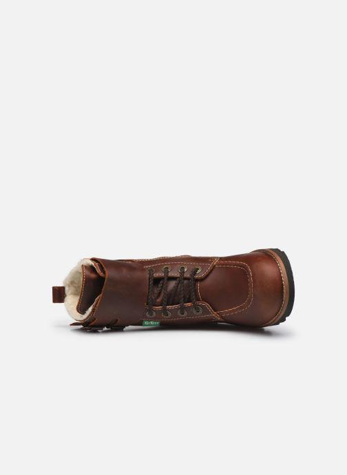 Stiefeletten & Boots Kickers NEOMEENELY braun ansicht von links