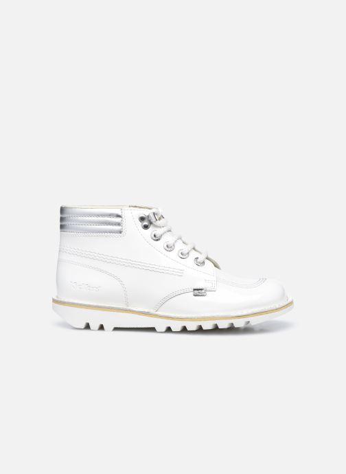 Stiefeletten & Boots Kickers KICK THROWBACK weiß ansicht von hinten