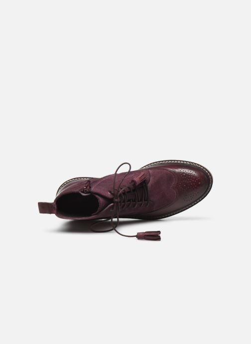 Stiefeletten & Boots Kickers OXANYHIGH weinrot ansicht von links