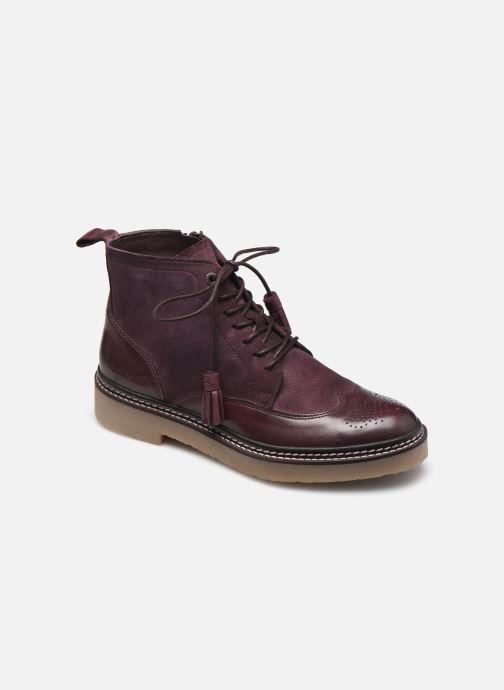 Stiefeletten & Boots Kickers OXANYHIGH weinrot detaillierte ansicht/modell