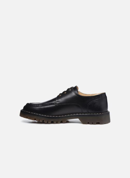 Zapatos con cordones Kickers DECKLOW Negro vista de frente