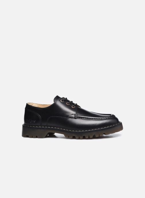 Zapatos con cordones Kickers DECKLOW Negro vistra trasera
