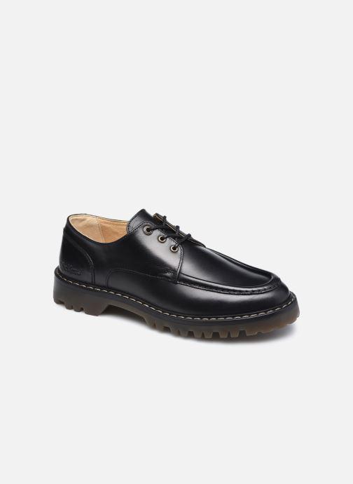 Zapatos con cordones Kickers DECKLOW Negro vista de detalle / par