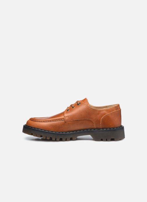 Zapatos con cordones Kickers DECKLOW Marrón vista de frente