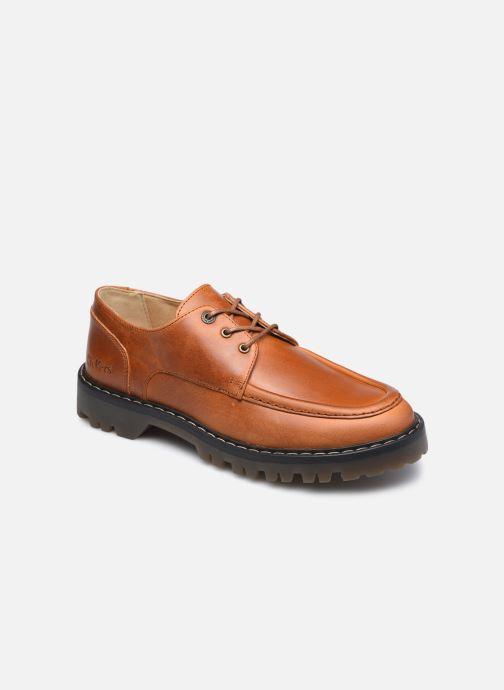 Zapatos con cordones Kickers DECKLOW Marrón vista de detalle / par