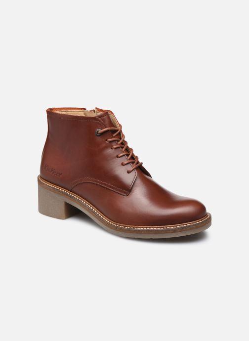 Bottines et boots Kickers OXYGENION Marron vue détail/paire